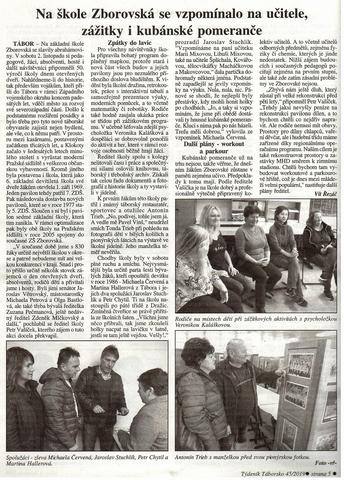 50 let výročí založení školy